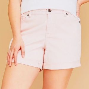 Lotus Pink Girlfriend Shorts